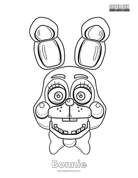 Fnaf Coloring Super Fun Coloring