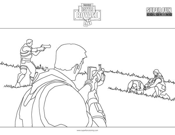 Fortnite Coloring Pages - Super Fun Coloring