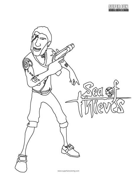 Sea of Thieves Coloring