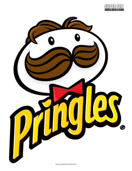 Pringles Logo Coloring Page Free