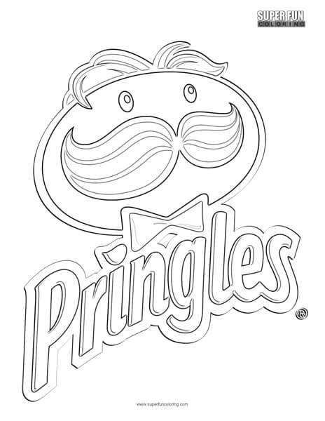 Pringles Logo Coloring Page