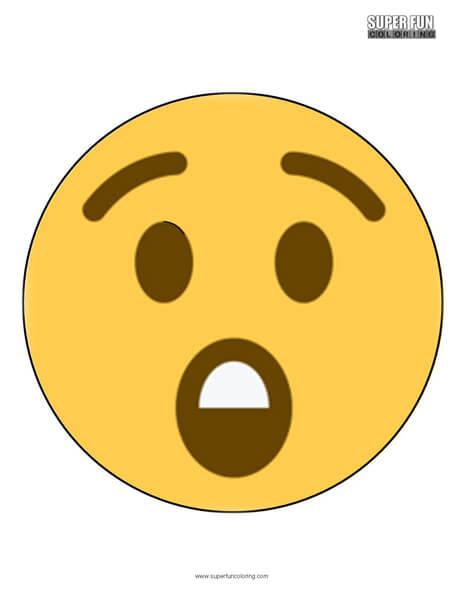 Twitter Surprise Emoji Coloring