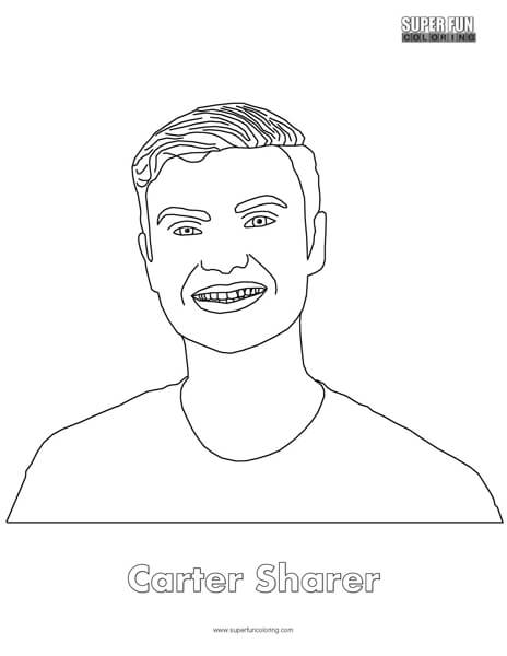 Carter Sharer Coloring Page