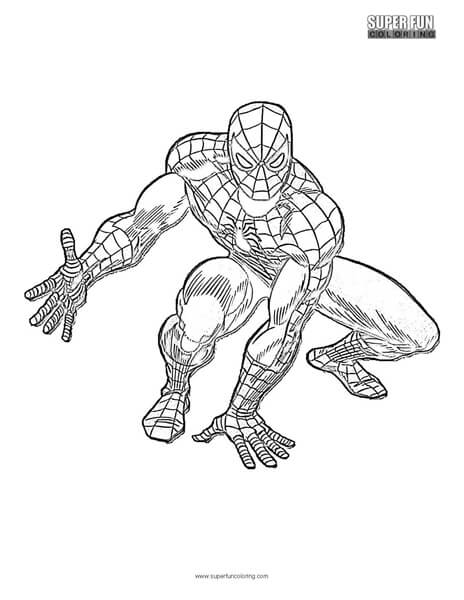 Spider-Man Coloring Page