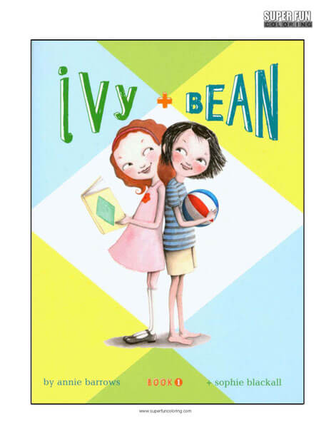 Ivy + Bean Book Coloring Page
