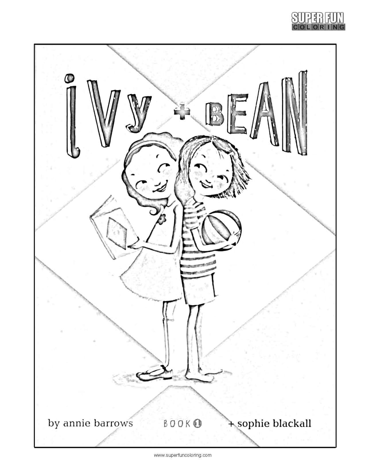Ivy + Bean Coloring Page