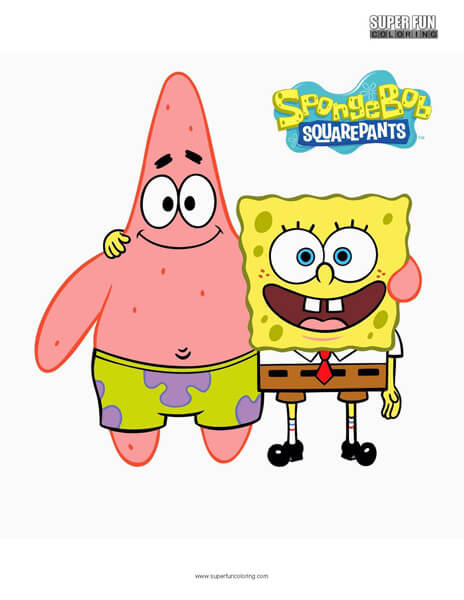 Spongebob Squarepants Coloring Page