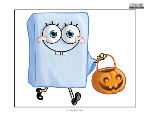 Spongebob Squarepants- Spongebob Coloring Pages