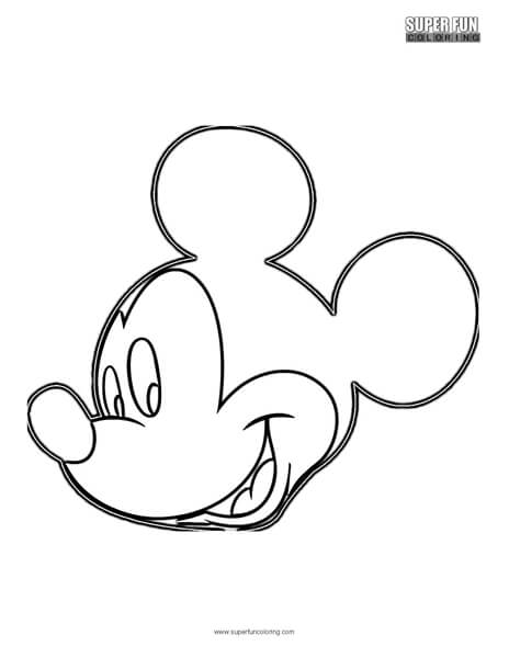 Mickey Mouse Disney Coloring Page