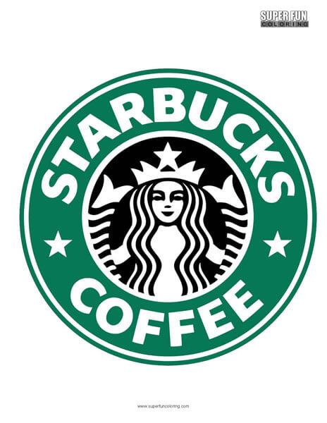 Starbucks Coloring Page Free