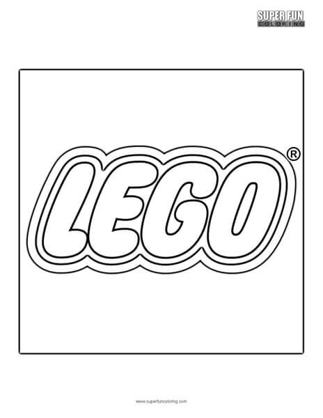 Lego Coloring Page Super Fun Coloring