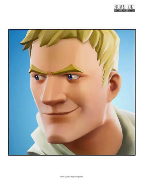 Fortnite App Coloring Page Android Iphone