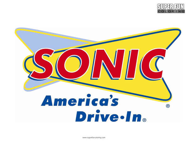 Sonic Coloring Page Free