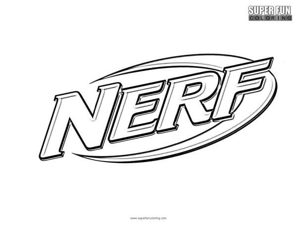 Nerf Coloring Page - Super Fun Coloring