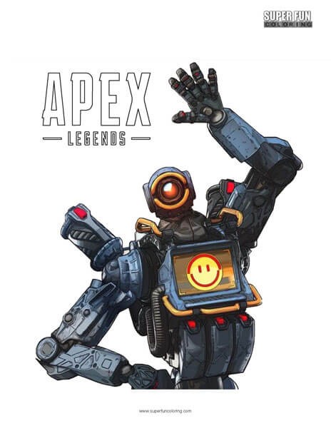 Apex Legends Coloring Page