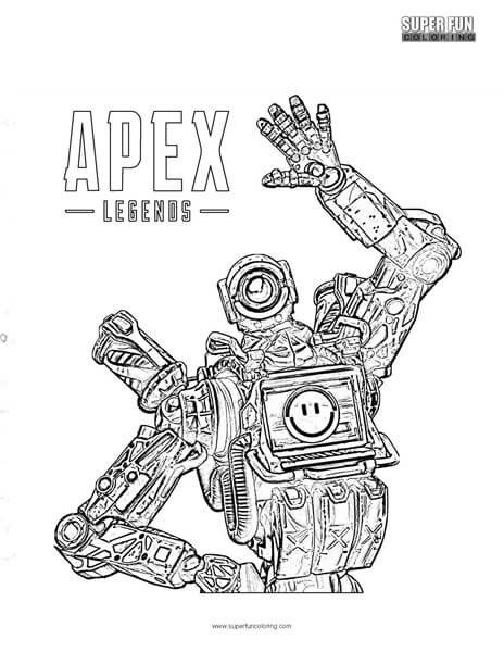 Apex Legends Coloring Page - Super Fun Coloring