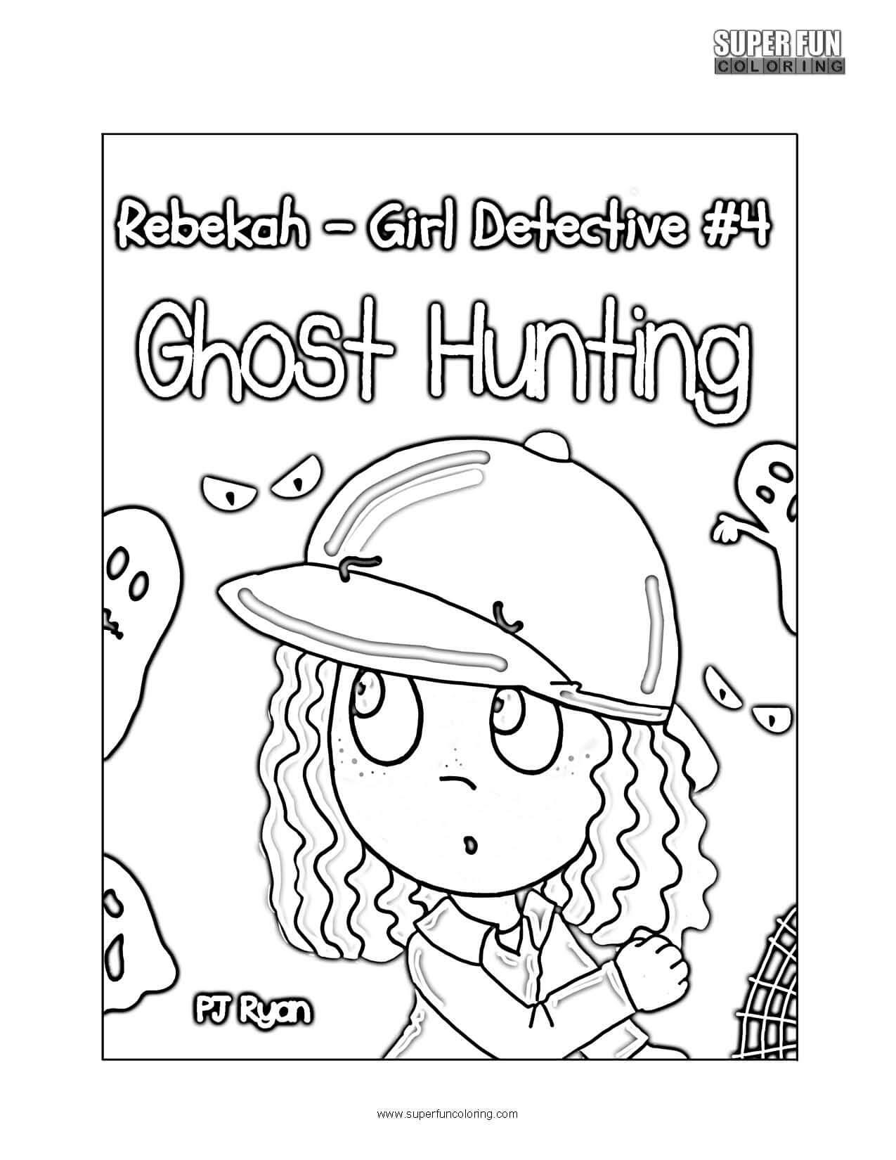 Rebekah Girl Detective Coloring Page phone app