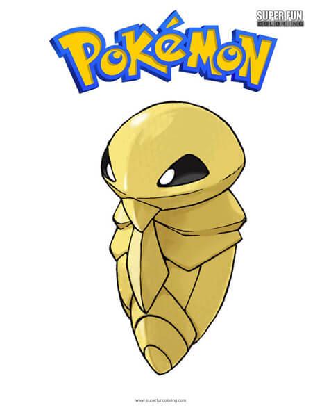 Kakuna Pokemon Coloring Page