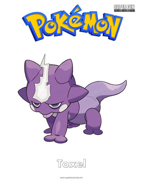 Toxel Pokemon Coloring Page